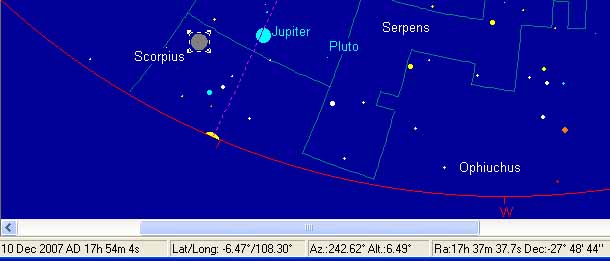 1 Dzulhijah 1428 H, starcalc